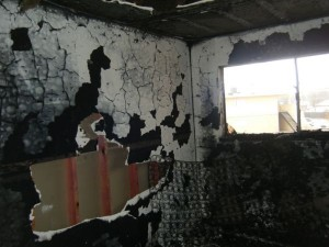 Damaged Room Before Shuff Restoration Team
